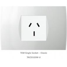 TAS Single Socket Set-Polar White-Soft